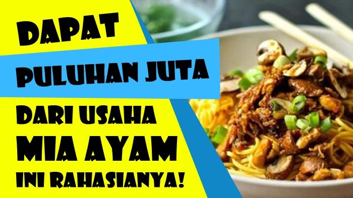 Usaha Mie Ayam