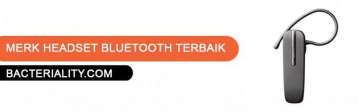 Merk Headset Bluetooth